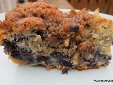 Recipe Blueberry-lavender crumb cake