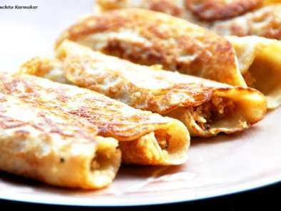 Recipe Coconut filled pancakes