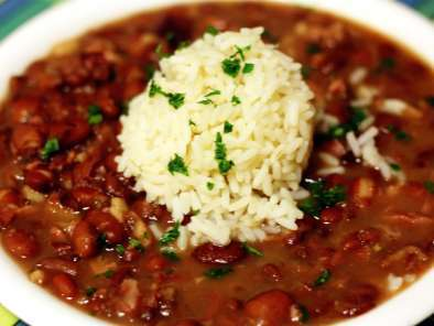 Recipe Cajun red beans and rice