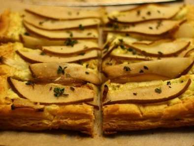 Recipe Blue cheese and pear tart
