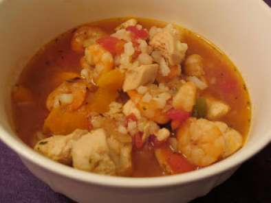 Recipe Chicken and shrimp jambalaya