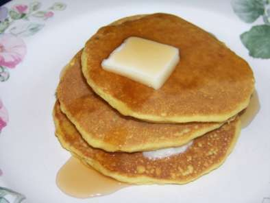 Recipe Oat fiber buttermilk pancakes
