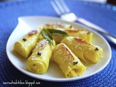 Recipe Sunrise khandvi rolls