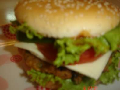 Recipe Veggie burger (indian style)