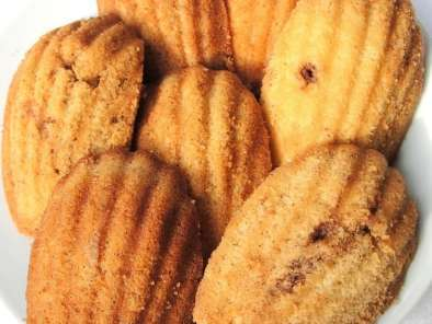 Recipe Orange cinnamon madeleines
