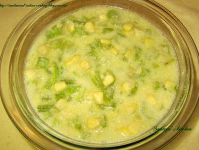 Recipe Celery and sweet corn soup