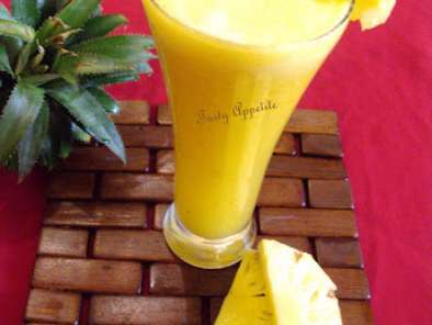 Recipe Pineapple smoothie / juice