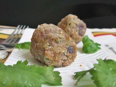 Recipe Fried potato cutlets, potato balls
