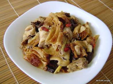 Recipe Braised chicken with preserved beancurd ~ foo yue kai