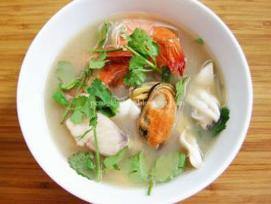 Recipe Seafood tom yum soup
