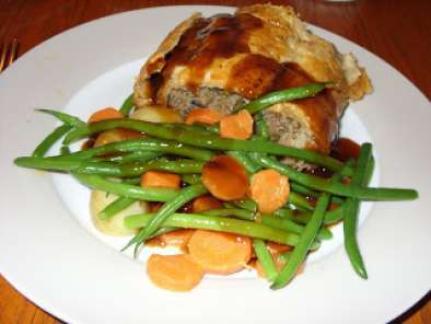 Recipe Minced beef wellington - a jamie oliver favourite.