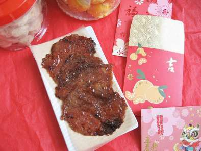 Recipe Organic chicken jerky (bak kwa) - make your own
