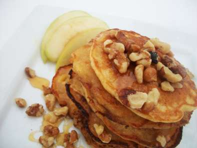 Recipe Easy apple-sourdough gluten/dairy-free pancakes
