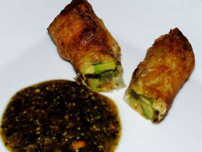 Recipe Cheesecake factory's avocado egg rolls