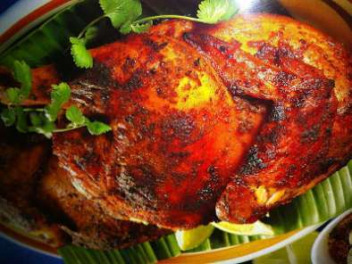 Recipe Ayam panggang ( spicy roast chicken)