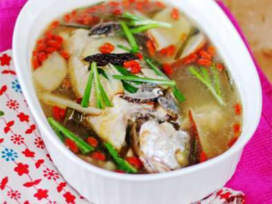 Recipe Fish soup recipe, happy chinese new year