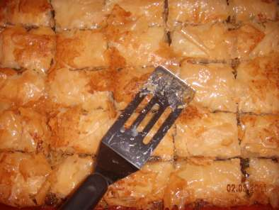 Recipe Baklava~ altered