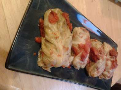 Recipe Vegan cabbage rolls slow cooker recipe