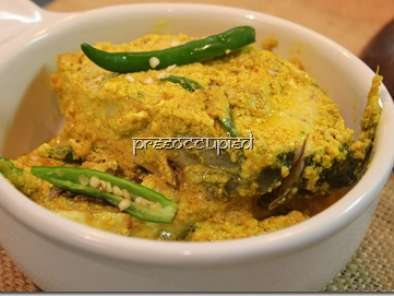 Recipe Pôddar ilish paturi in the microwave