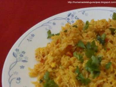 spicy egg fried rice in telugu