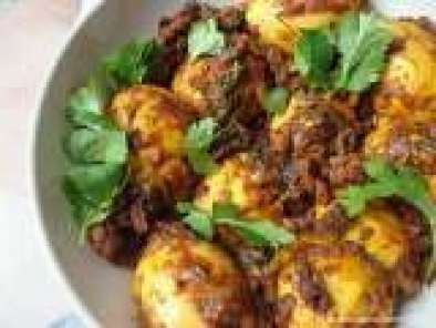 Recipe Egg Roast( Boiled eggs roasted with Indian spices).