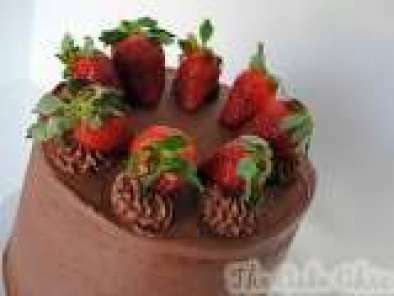 Recipe Chocolate Covered Strawberry Cake