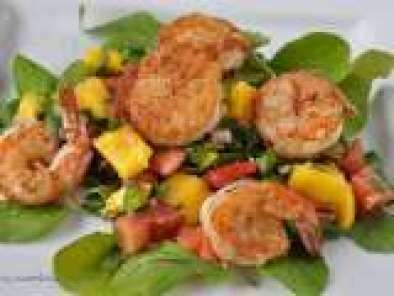 Recipe Shrimp and Scallop Salad with Mango Salsa