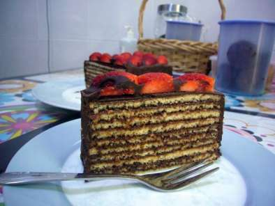 Recipe Nutella dobos torte