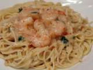 Recipe Vermicelli in Shrimp and Crab Sauce