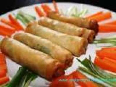 Recipe Lumpia or Lumpiang Prito A La Sally (Vegetables Spring Roll)