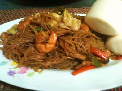 Recipe Pancit bihon(filipino pancit)