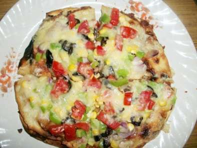 Recipe Mexican pizza