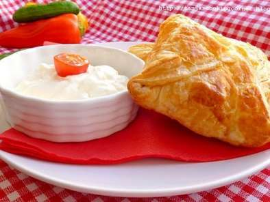 Recipe Puff pastry with minced meat