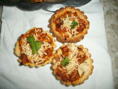 Recipe Mini paneer tart (cottage cheese mini tart)