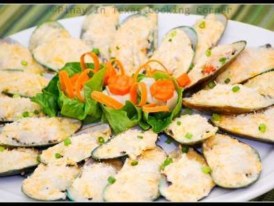 Recipe Baked mussels