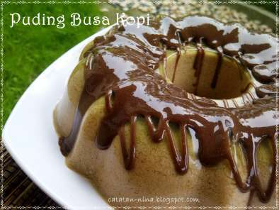 Recipe Coffe pudding foam