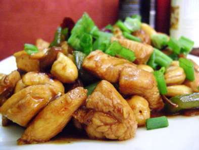 Recipe Thai cashew chicken
