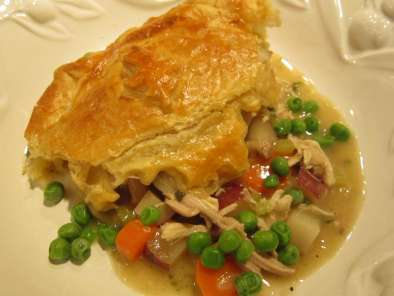 Recipe Chicken pot pie for realists