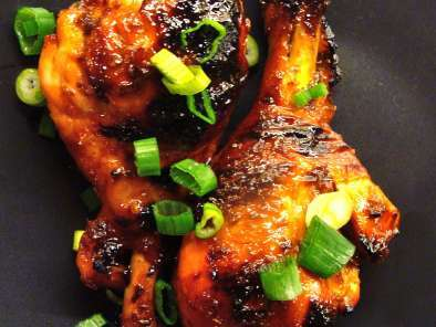 Recipe Sweet & spicy asian chicken drumsticks