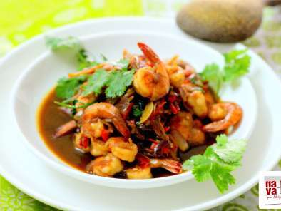 Recipe Prawns in chilli oyster sauce