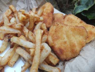 Recipe Homemade fish and chips