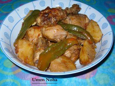 Recipe Chicken adobo with tomato sauce