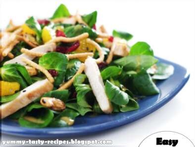 Recipe Chicken salad with grape yummy tasty recipes