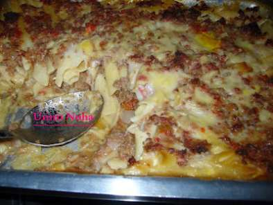 Recipe Macaroni bechamel with ground beef