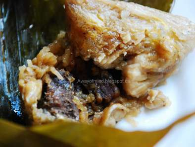 Recipe Bak chang (zongzi / savoury rice dumplings)