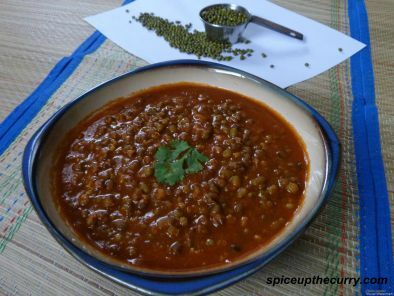 Recipe Whole green moong dal