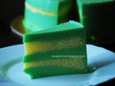 Recipe Pandan layer cake