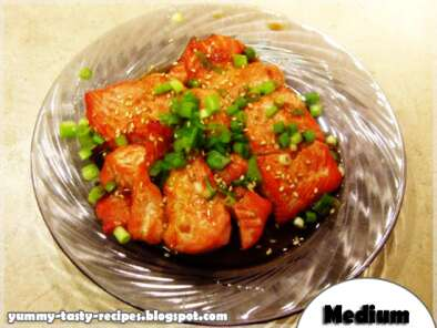 Recipe Grilled salmon with honey - yummy tasty recipes