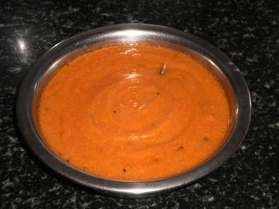 Recipe Spicy tomato garlic chutney recipe/chettinad kara chutney