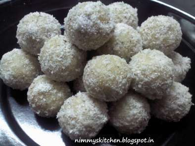 Recipe Coconut ladoo